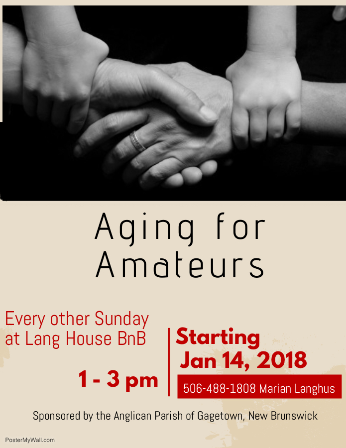 Aging for Amateurs 2018